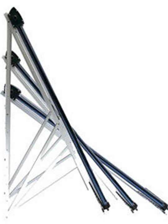 Крепления на плоскую крышу 58-1800-30 для СВК-Twin Power (регулируемое) - фото