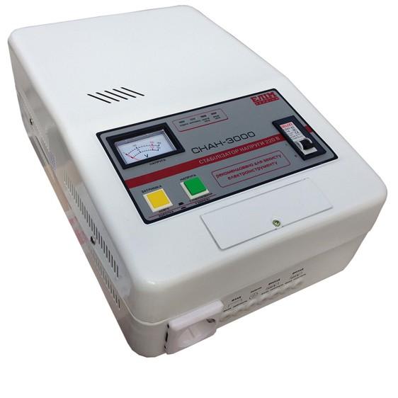 Стабилизатор Elim СНАН-3000 VA (навесной, электромех. однофазный) - фото