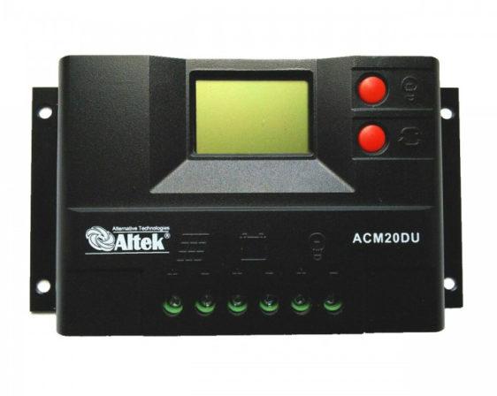 Контроллер заряда Altek АСМ20D+USB - фото