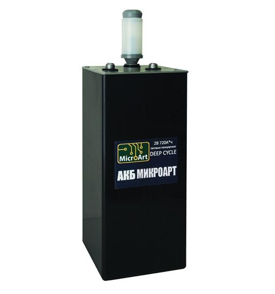 Аккумуляторная батарея МикроАрт тяговая 2*720 (обслуживаемая) - фото