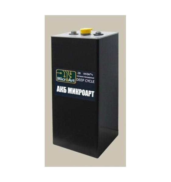 Аккумуляторная батарея МикроАрт тяговая 2*960 (обслуживаемая) - фото