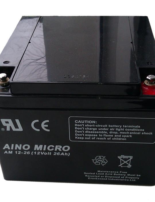 Аккумуляторная батарея EverExceed AM 12-26 (12В/26Ач) - фото