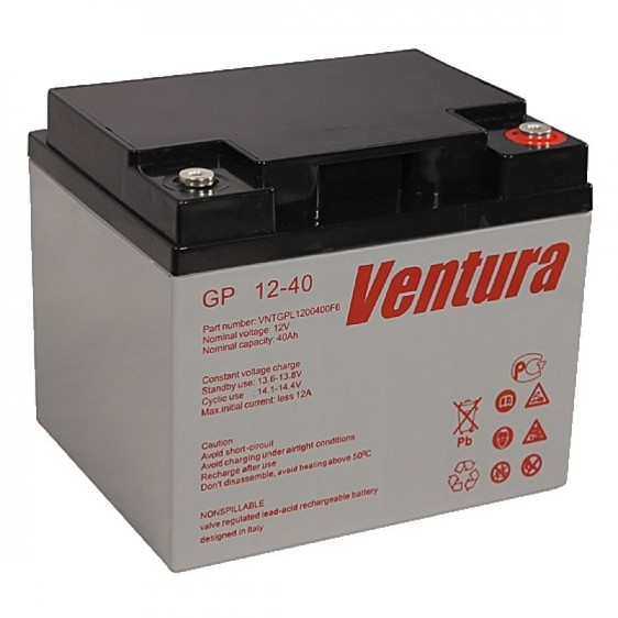 Аккумуляторная батарея Ventura GP 12-40 - фото