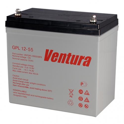 Аккумуляторная батарея Ventura GPL 12-55 - фото