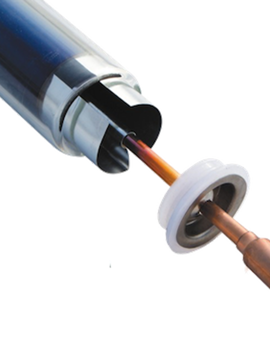 Трубка вакуумная тепловая 58/1800/14 тип Heat Pipe - фото