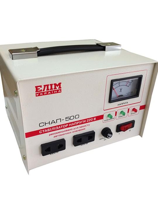 Стабилизатор Elim СНАП (переносной, электромех. однофазные) - фото