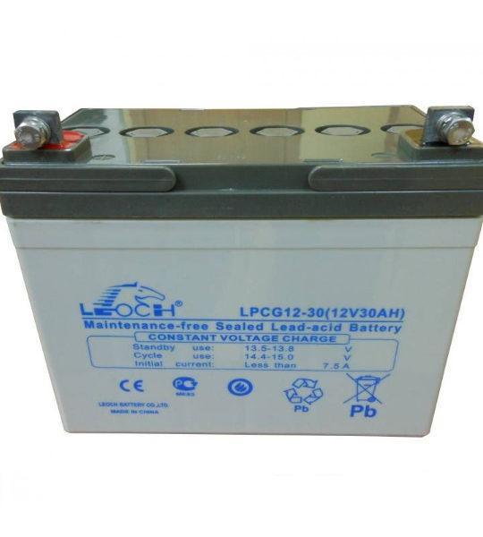 Аккумуляторная батарея Leoch LPCG 12-30 - фото