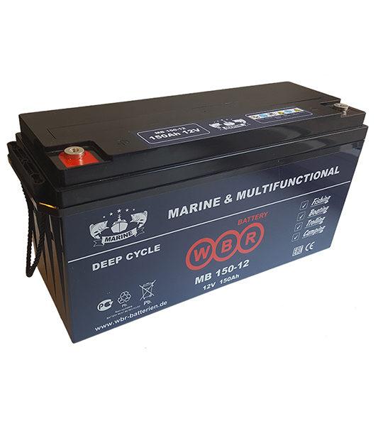 Аккумуляторная батарея WBR MB 150-12 - фото