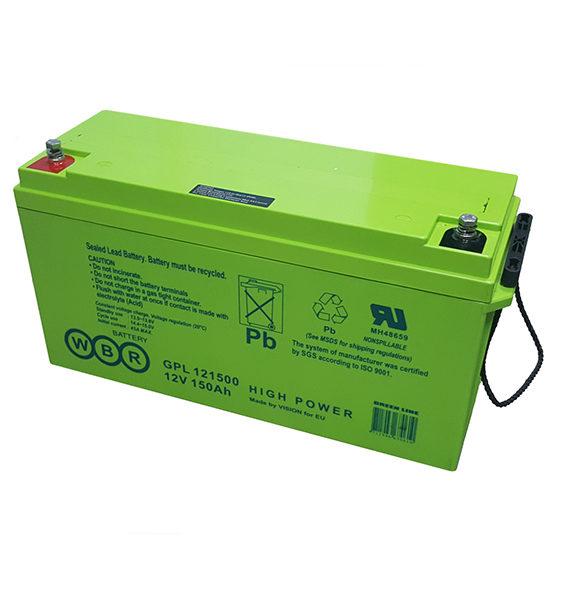 Аккумуляторная батарея WBR GPL 12 -фото