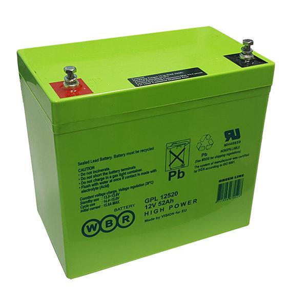Аккумуляторная батарея WBR GPL 12520 - фото