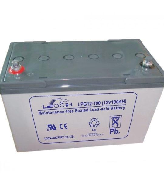 Аккумуляторная батарея Leoch LPG 12-100 - фото