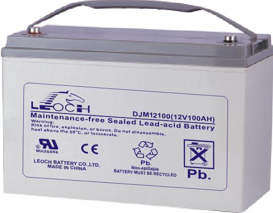 Аккумуляторная батарея Leoch DJM 12100 - фото