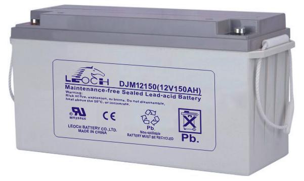 Аккумуляторная батарея Leoch DJM 12150 - фото