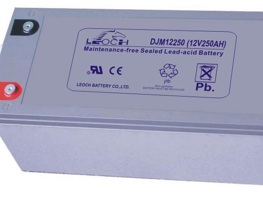 Аккумуляторная батарея Leoch DJM 12250 - фото