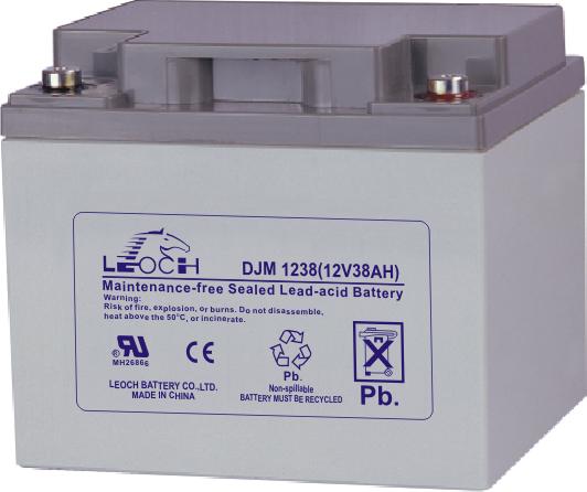 Аккумуляторная батарея Leoch DJM 1238 - фото