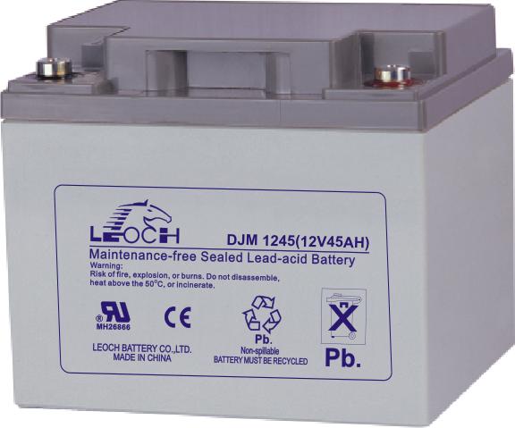 Аккумуляторная батарея Leoch DJM 1245 - фото