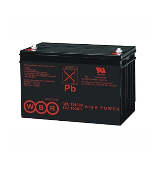 Аккумуляторная батарея WBR GPL 121000 - фото