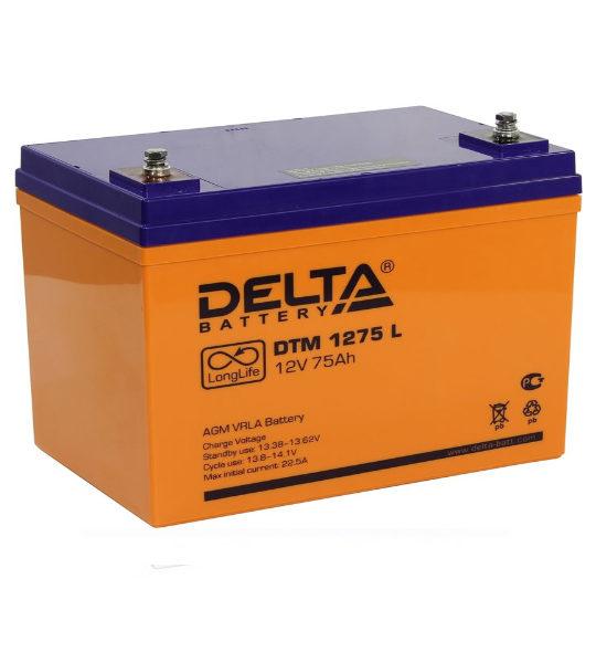 Аккумуляторная батарея Delta DTM 1275 L AGM - фото