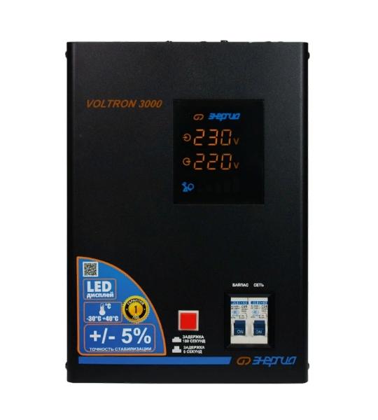 Стабилизатор напряжения Энергия Voltron (5%) 3000- фото