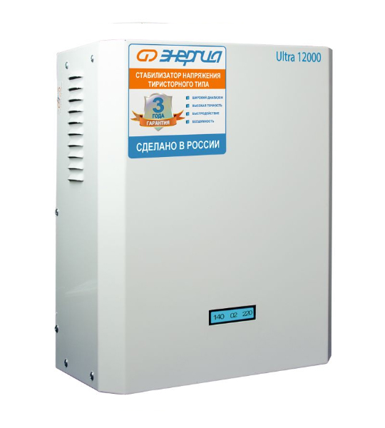 Стабилизатор Энергия Ultra 12000 - фото