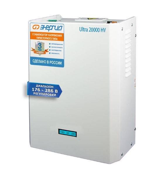 Стабилизатор Энергия Ultra 20000 HV 176÷286 В - фото