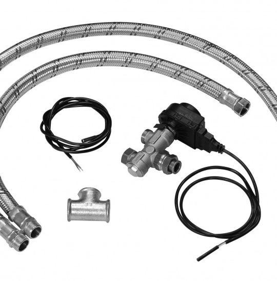 Комплект для подкл-я бойлера Baxi к 1 конт.котлу(3-хход + сервопривод + датчик и шланги) 714096312 - фото