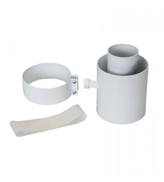 Комплект коакс. Baxi для слива конденсата 80 мм с креплением (054710) - фото