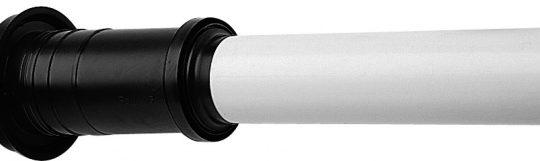 Вертикальный наконечник Baxi полипропиленовый для коаксиальной трубы, диам. 110-160 мм, НТ - фото