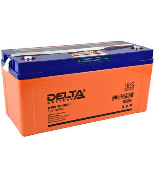 Аккумуляторная батарея Delta DTM 12120 I AGM - фото