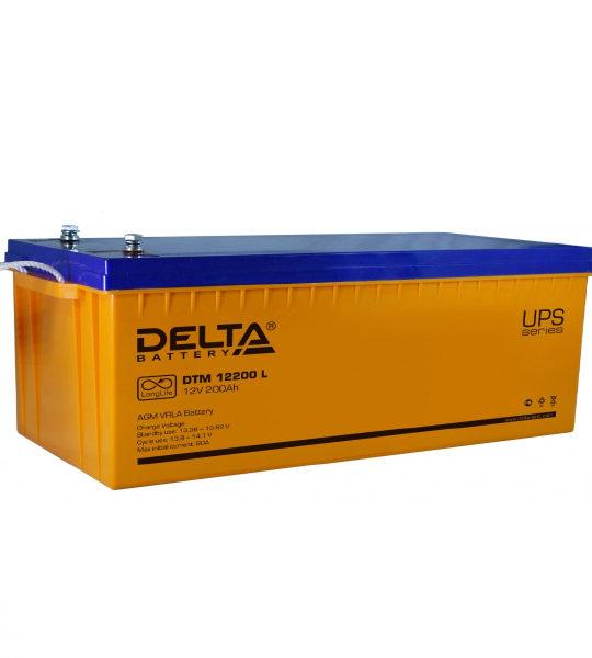 Аккумуляторная батарея Delta DTM 12200 L AGM - фото