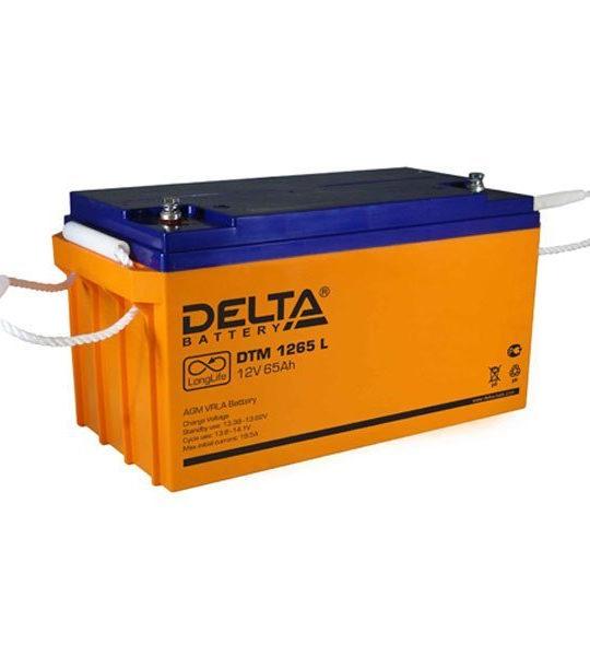 Аккумуляторная батарея Delta DTM 1265 L AGM - фото