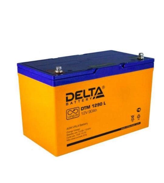 Аккумуляторная батарея Delta DTM 1290 L AGM - фото