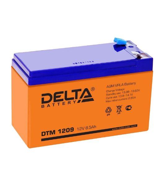 Аккумуляторная батарея Delta DTM 1209 AGM - фото