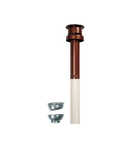Комплект коаксиального дымохода Immergas (вертикальный, с оголовком, 60/100 мм) - фото