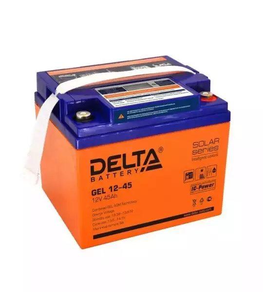 Аккумуляторная батарея Delta GEL 12- 45 - фото