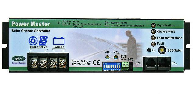 Контроллер заряда Power Master PM-SCC-30AP - фото