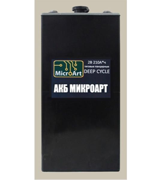 Аккумуляторная батарея МикроАрт тяговая 2*210 (обслуживаемая) - фото