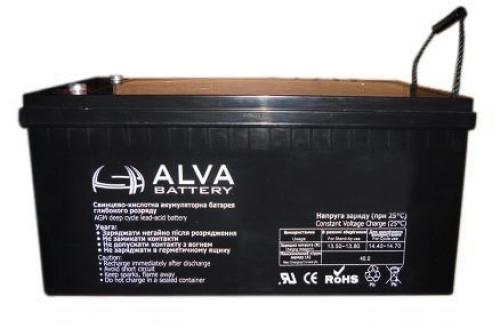 Аккумуляторная батарея Alva AW12-200 AGM - фото