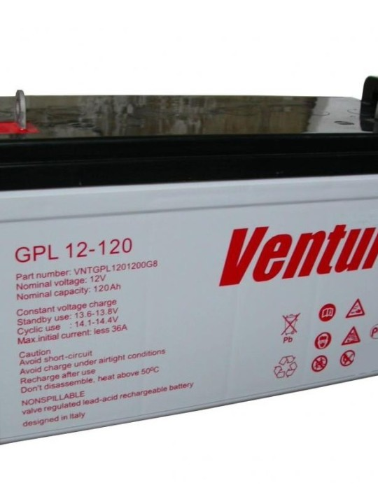 Аккумуляторная батарея Ventura GPL 12-120 - фото