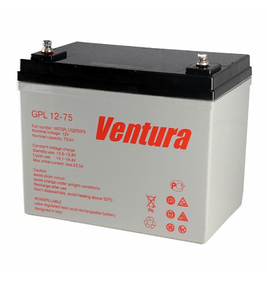 Аккумуляторная батарея Ventura GPL 12-75 - фото