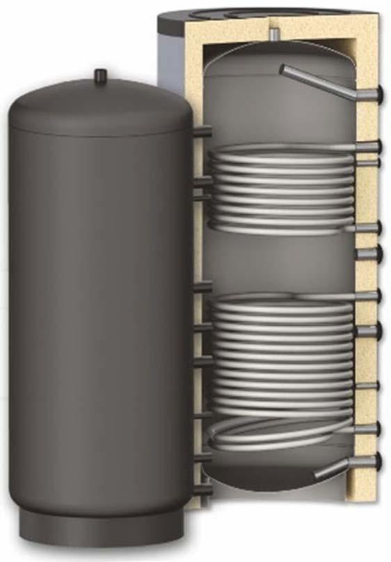 Бак-аккумулятор S-TANK SOLAR DUO - фото