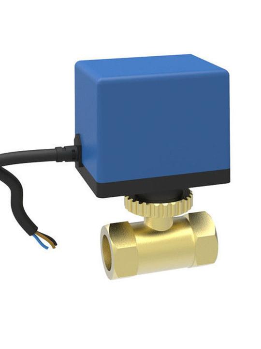 """Клапан 2-х зонный шаровый с приводом 220В BV03G2D32SAV220 1 1/4"""" - фото"""