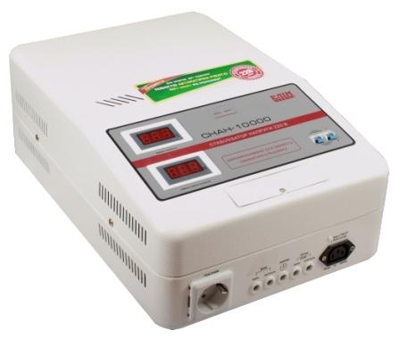 Стабилизатор Elim СНАН-10000 VA (навесной, электромех. однофазный)- фото