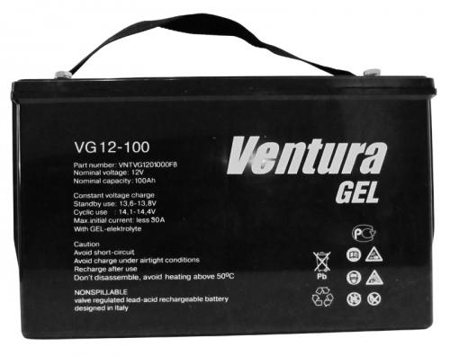 Гелевый аккумулятор Ventura VG 12-100 - фото