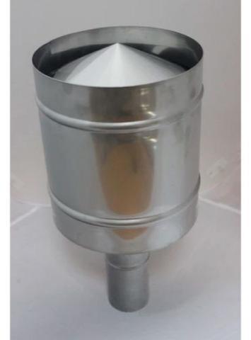 Дефлектор верт.дым Ø75 - фото