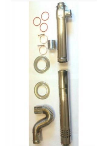 Дымоход коаксиальный I 75/1000L | Slide | EMF | RMF Ø75/100. слайд - фото