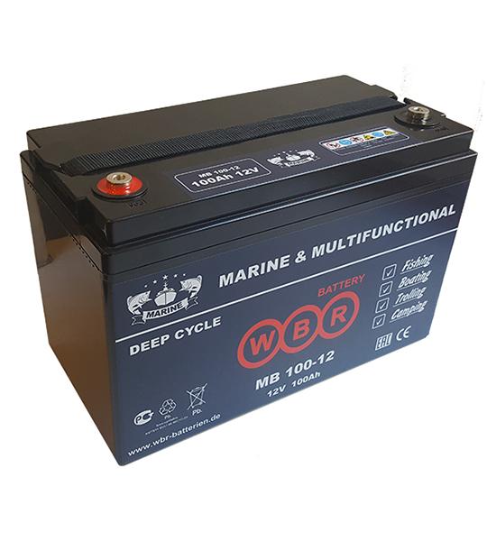 Аккумуляторная батарея WBR MB 100-12 - фото