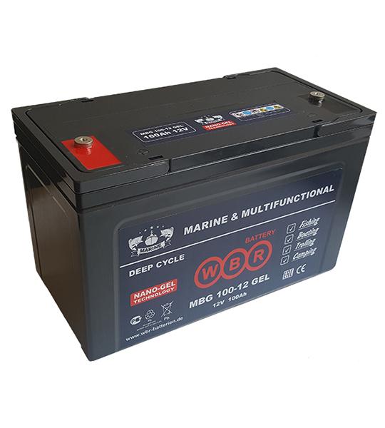 Аккумуляторная батарея WBR MBG 100-12 - фото