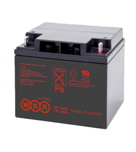 Аккумуляторная батарея WBR GP 12400 - фото