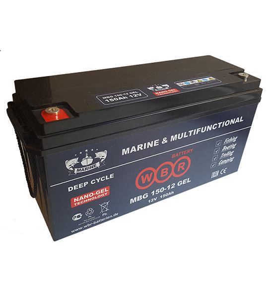 Аккумуляторная батарея WBR MBG 150-12 - фото
